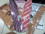 мужские галстуки, рубашки
